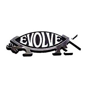 Evolve Fish Car Badge