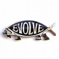 Evolve Lapel Pin(Silver)