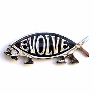 Evolve Lapel Pin(Silver)