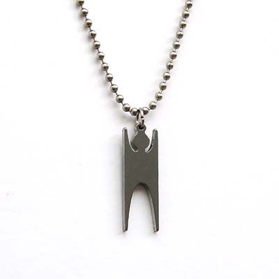 Humanist Necklace (Stainless Steel)