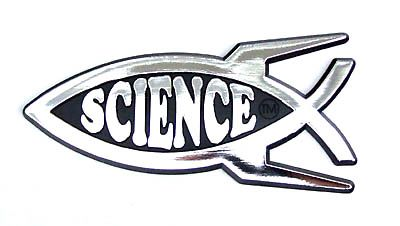 Science Car Badge