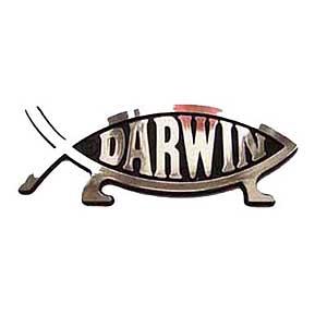 Darwin Fish Car Badge Darwin Fish And Evolve Fish Uk Based